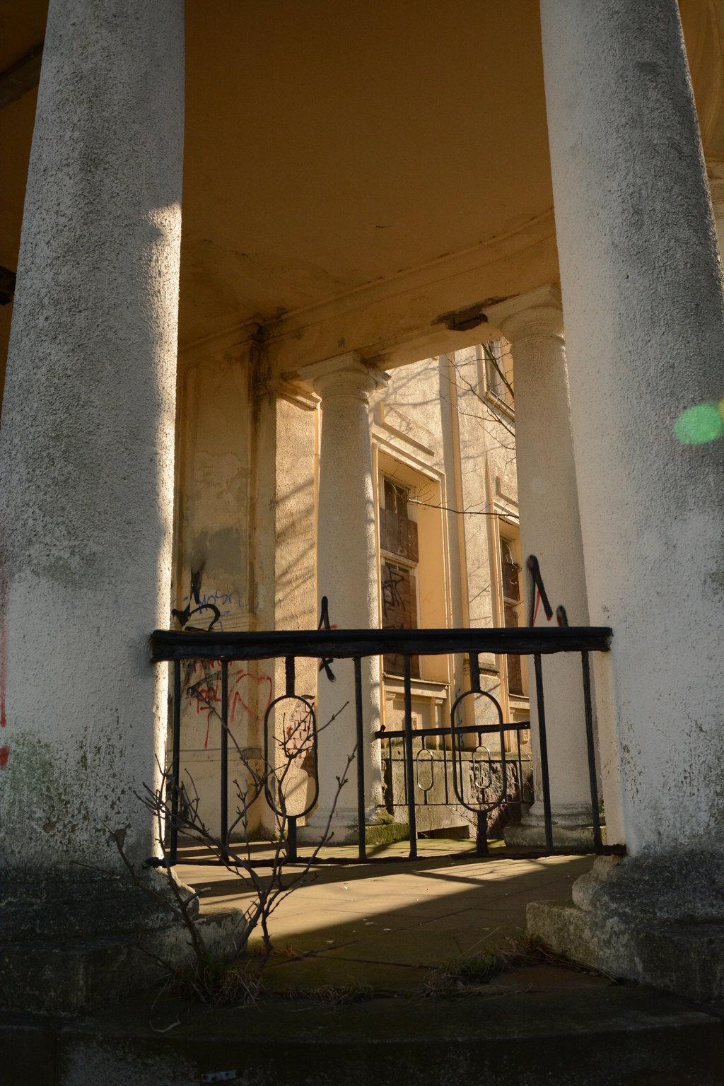 Front entrance porch